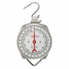 More details for weighstation hanging kitchen scale in stainless steel - 25kg