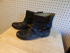Womens Nine West Vintage America ankle boots - black - size 9.5 - Fountain