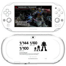 Skin Decal Sticker For PS Vita Slim PCH-2000 Series-Gundam Breaker #01+Free Gift