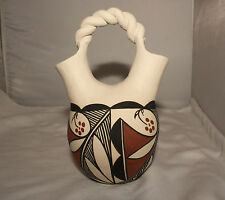 Native American Wedding Vase by Clara Fernando, Laguna Pueblo