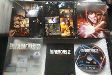 INFAMOUS 2 SPECIAL EDITION PS3 V.G.C. FAST POST ( + rare lenticular cover )