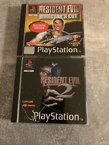 Resident Evil - Director's Cut + Resident Evil 2 - Sony PlayStation 1 - PS1