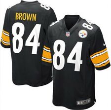 NWT Nike NFL Pittsburgh Steelers #84 Antonio Brown Game Jersey Youth Large (L)