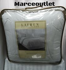 RALPH LAUREN Bronze Comfort KING Down Alternative Comforter White