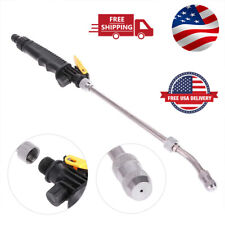 2-IN-1 High Pressure Power Car Water Washer Wand Nozzle Spray Gun Flow Controls