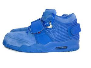 Nike Sneakers Blue Suede Air Trainer V Cruz Premium Rush Blue Shoes Mens 12