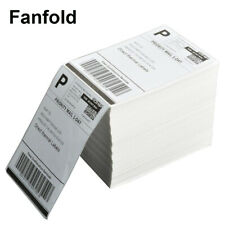 500 4000 Direct Thermal Address Shipping Labels 4x6 Perforated For Rollo Amp Zebra