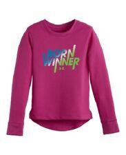 NWT Girls UNDER ARMOUR Long sleeve shirt   Sz 5 $28 tag  Sooo Cute!!
