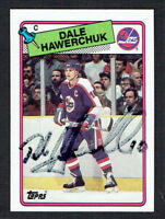 Dale Hawerchuk #65 signed autograph auto 1988-89 Topps Hockey Trading Card