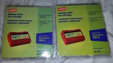 Postage Meter Ink Cartridge Red replaces Pitney Bowes 769-0 (Sip-E700) Lot/2