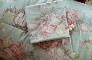 Vintage Ralph Lauren Garden Rambler Charlotte Twin Comforter & Pillowcase