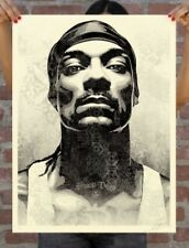 SNOOP D-O DOUBLE G SIGNED & NUMBERED SCREEN PRINT Obey Dogg *CONFIRMED
