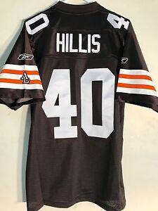 Reebok Premier NFL Jersey Cleveland Browns Peyton Hillis Brown sz L