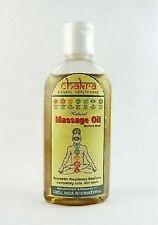 Chakra Herbal Massage Oil 100% Pure and Natural, Relaxes the Body -100ml