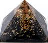 Authentic EXTRA LARGE Black Tourmaline Orgone Crystal Pyramid X-Large US SELLER
