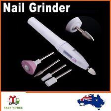 Pro 5 Bits Pen Shape Electric Nail Drill Art File Manicure Set Salon Shaper Tool