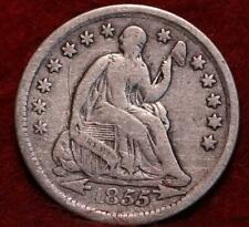 1855 Philadelphia Mint Silver Seated Half Dime