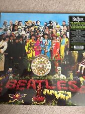 THE BEATLES 'SGT PEPPERS LONELY HEARTS CLUB BAND' Remastered 180G Vinyl LP - New