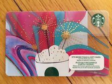 "Canada Series Starbucks ""CELEBRATION"" 2016 Gift Card - New No Value"