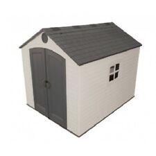 Lifetime 8x10 Plastic Storage Shed Kit w/ Floor (6405)