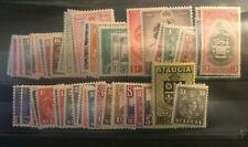 St Lucia 1938-48, 1949-50, Victory, 1949, 1950 and RSW GVI  sets. VFM