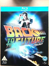Michael J. Fox Regreso Al Futuro Trilogy Clásica Sci-Fi Blu-Ray Box Set