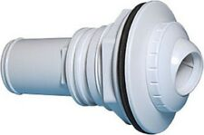 Above Ground Swimming Pool Jet Return Fitting with Gaskets and Adapter