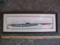 1920s VON PLATEN-FOX LUMBER MILL Panoramic Photo IRON MOUNTAIN UP MICHIGAN old
