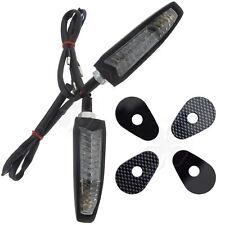 Viper Front Stalk Turn Signal LED For Yamaha YZF R6 R1 LED Light Blinker Black