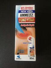 80ml X 3 Kobayashi Ammeltz Yoko Yoko LESS SMELL Analgesic Liquid Muscular aches