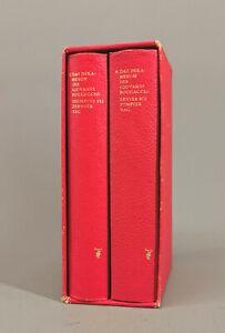 99855037 2 Bände Das Dekameron des Giovanni Boccaccio Aufbau-Verlag 1970 Leder