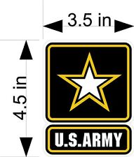US ARMY car & truck vehicle/window decals/stickers