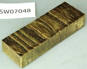 Esche Maser braun stabilisiert | 120x40x20 | puq stabwood | ash burl 7048