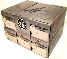 Lot of 6 CWA General Electric GE Projector Lamps Bulbs 750W 120V NOS USA