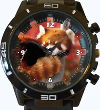 Red Firefox Panda Japan New Trendy Sports Series Unisex Gift Watch