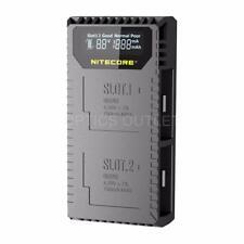 Nitecore UGP5 Dual Slot Digital USB Charger for GoPro Hero5 Black Battery