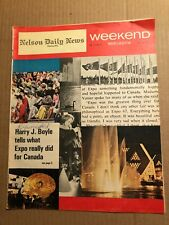 MAGAZINE ARTICLE: WEEKEND MAGAZINE, THE ANSWER IS IN THE NET, SAWCHUK, 1967 DEC