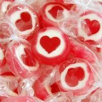 (9,38 EUR/kg) Rocks Bonbons Herzen Herzbonbons 500 Gramm Beutel Handgemacht