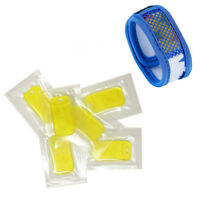 10pcs Anti Moustique Répulsif Essence Huile Recharge pour Répulsif Bracelet Ni