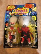 Troll Warriors King Nolaf 1993 Tyco Troll Power Tattoo Orange Red New