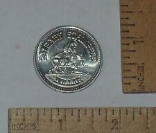 1975 CALGARY STAMPEDE DOLLAR - CALGARY CENTENNIAL - Silver Tone COIN / TOKEN