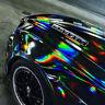 [21,00€/ m²] HOLOGRAMM FOLIE CARBON  CHAMÄLEON MATT SCHWARZ GLANZ  5D 3D 2D AUTO