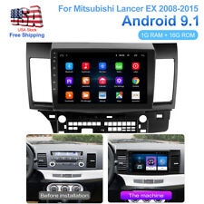 "10.1"" Car Android 9.1 Radio Gps Navi Stereo For Mitsubishi Lancer Ex 2008-2015"