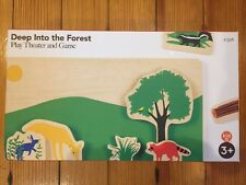Kid-O DEEP INTO THE FOREST Toddler Play Theater Game 3+ Imagination Toy free SH