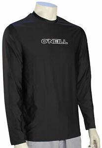 O'Neill Basic Skins LS Surf Shirt - Black - New