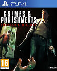 Crimes & Punishments Sherlock Holmes (Sony PlayStation 4, 2014)