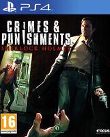 Crimes & Punishments Sherlock Holmes PS4 Playstation 4 **FREE UK POSTAGE!!**