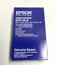 New Epson Ribbon Cartridge ERC-38B  Black 3 Packs Genuine Epson Product
