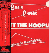"MOTT THE HOOPLE ""BRAIN CAPERS"" ORIG JAPAN 1972 OBI W/LBL PROMO"