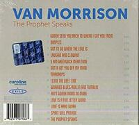 VAN MORRISION  -The Prophet Speaks  (CD 2018) NEW & SEALED